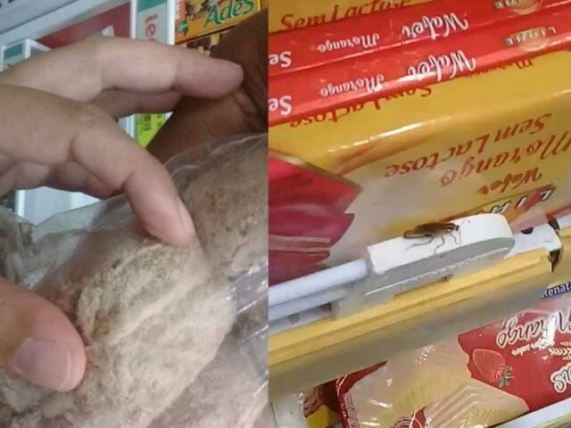 Cliente gravou vídeo em loja do Tiradentes, mas gerente diz que faz o controle de pragas