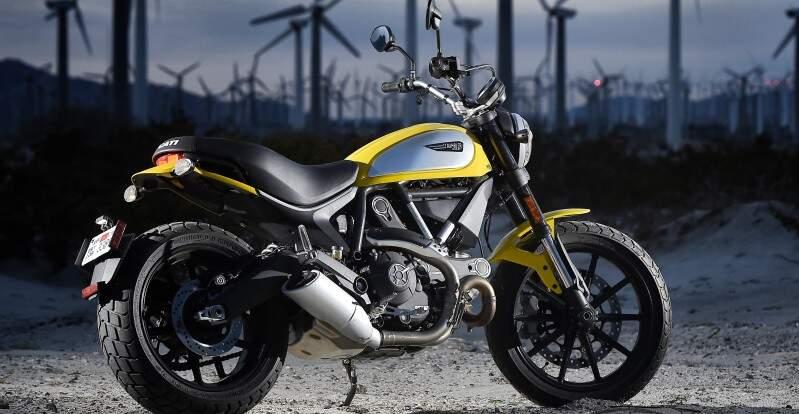 Ducati apresenta linha Scrambler no Salão Duas Rodas