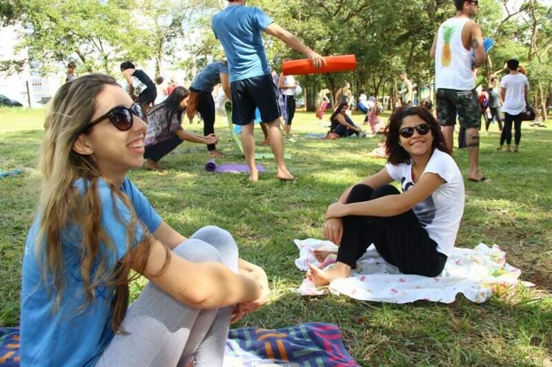 Dia de Yoga para Todos no Parque das Nações. (Foto: Fernando Antunes)