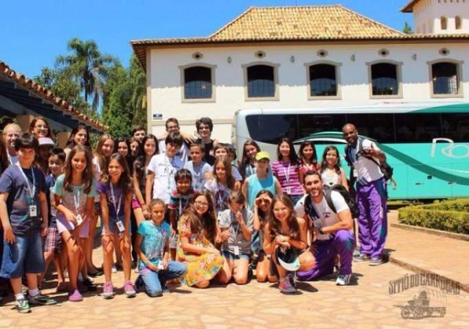 Sítio Carroção, destino de muitos primeiros viajantes agora, em outubro. (Foto: Sítio Carroção)