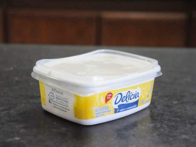 Pote de margarina (Foto: Paulo Francis)