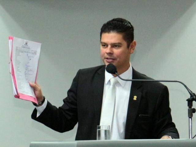 Otávio Trad havia apresentado a proposta em 2014, mas a viu ser vetada pela Prefeitura da Capital. (Foto: Divulgação/Assessoria)
