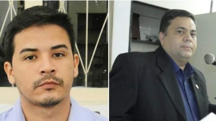 André Caffaro e Vagner Gonçalves tiveram mandados cassados  (Foto: site Pérola News)