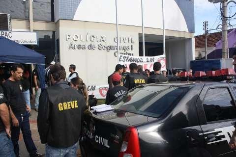TJ considera greve da Polícia Civil ilegal e fixa multa de 40 mil ao Sinpol