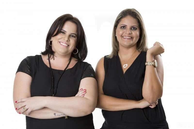 As sócias da empresa Rhesultado, Carolina e Luciane (Foto: Divulgação)