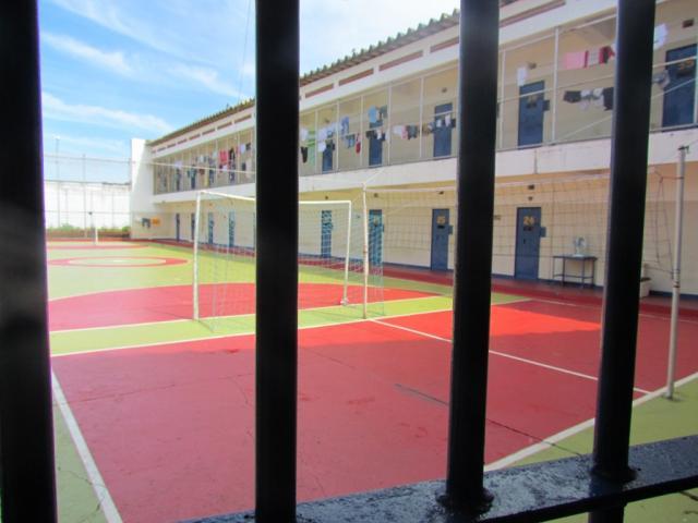 Fontes relatam presos amotinados na Penitenciária Estadual de Dourados (Foto: Arquivo)