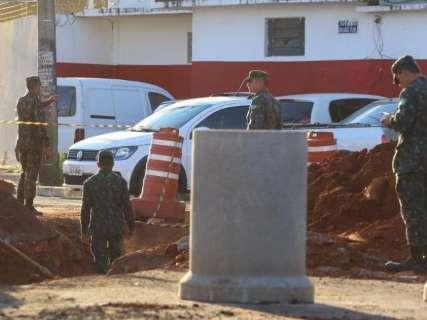 Vias do Bairro Amambai serão fechadas para obras de drenagem, informa CMO