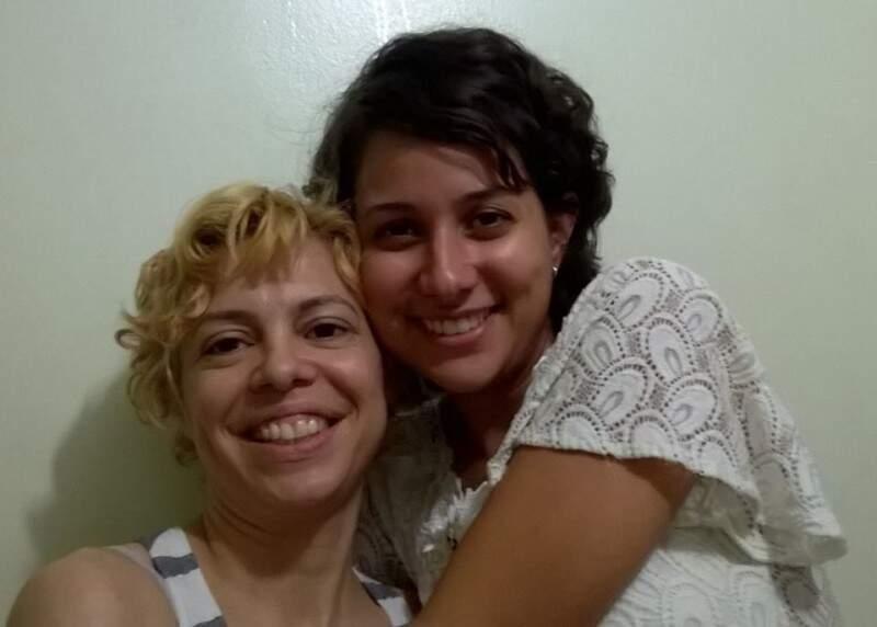 Ana e Camila, amigas há 12 anos, desde os tempos de cursinho. (Foto: Arquivo Pessoal)