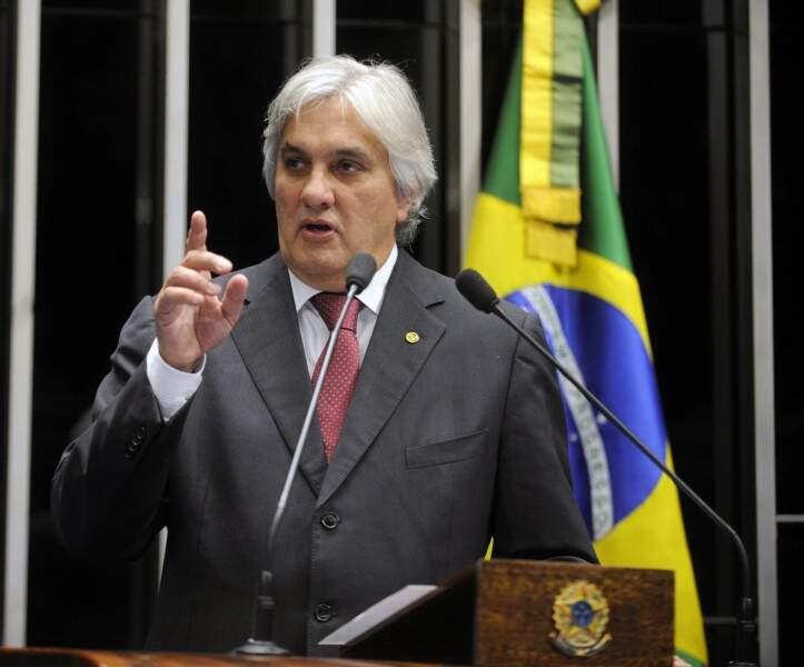 O senador Delcídio do Amaral foi internado hoje em São Paulo para realizar duas cirurgias nesta terça-feira (Foto: Divulgação/Agência Senado)