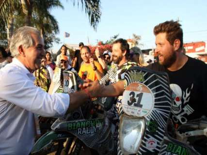 Reinaldo diz que desafio é trazer mais eventos como Rally dos Sertões a MS