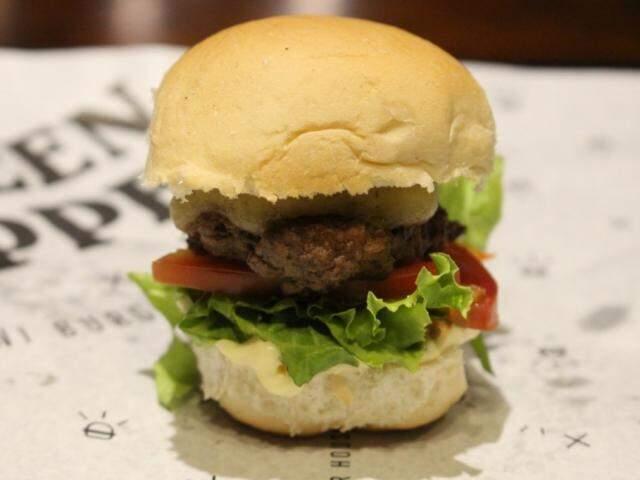 No Green Pepper tem rodízio mini hambúrguer (Foto: Green Pepper)