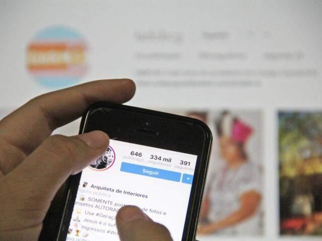 """Com o crescimento Instagram,  a onda """"digital influencer"""" ganhou força. (Foto: Marcos Ermínio)"""