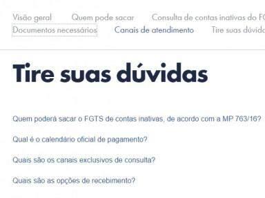 No site há o passo-a-passo para consulta (Foto: Divulgação)