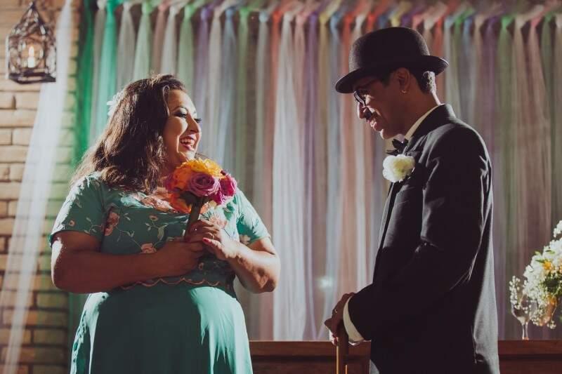 Juntos há um ano, eles disseram sim ao amor de iguais. (Foto: André Patroni)