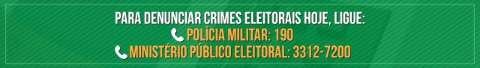 Justiça Eleitoral contabiliza 113 denúncias sobre propaganda irregular