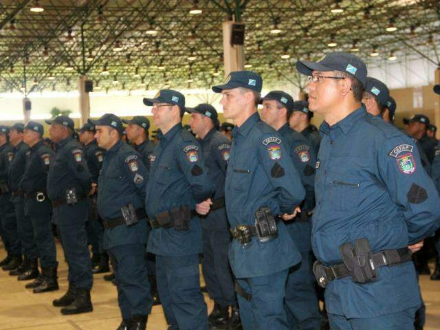 Policiais vão participar das eleições deste ano (Foto: Chico Ribeiro)