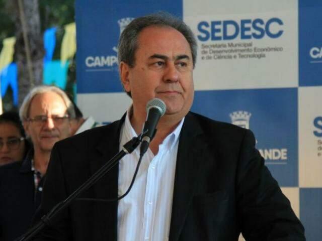 Antônio Lacerda, presidente estadual do PSD e secretário municipal de governo da gestão de Marquinhos Trad (Foto: Marina Pacheco)