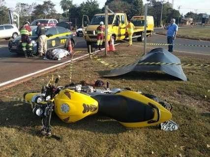 Motorista que causou acidente com morte diz à polícia não ter visto moto