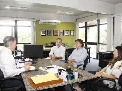 Na Sejusp, presidente da Assomasul discute municipalização do trânsito em MS