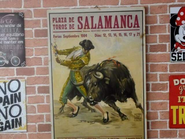 Nome do estabelecimento foi tirado de um quadro vindo de Salamanca. (Foto: Roberto Higa)