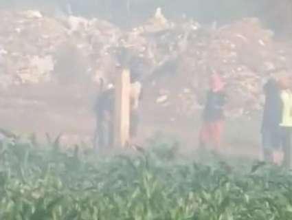 Tensão entre índios e sitiantes tem incêndios e clima de conflito iminente