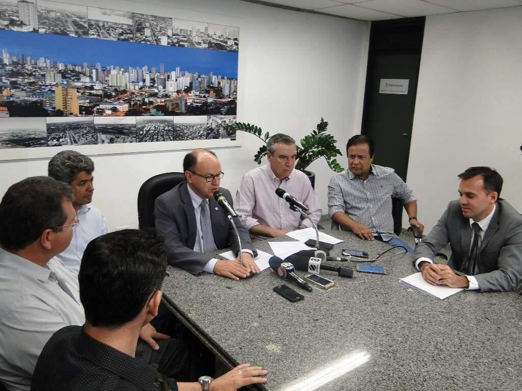 CPI da JBS realizou coletiva de imprensa ontem para falar sobre bloqueio de bens (Foto: Divulgação/ALMS)