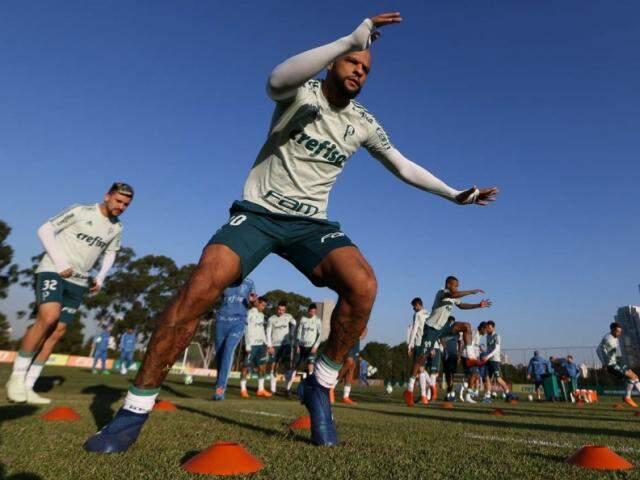 Felipe Melo está confirmado no meio-campo do Palmeiras hoje (Foto: Cesar Greco/Ag Palmeiras/Divulgação)