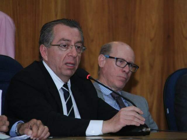 Presidente da OAB avalia que Quinto Constitucional traz equilíbrio ao Judiciário (Foto: Alan Nantes)