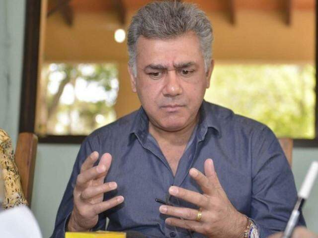 Jarvis Gimenes Pavão durante entrevista a jornal do Paraguai (Foto: ABC Color)