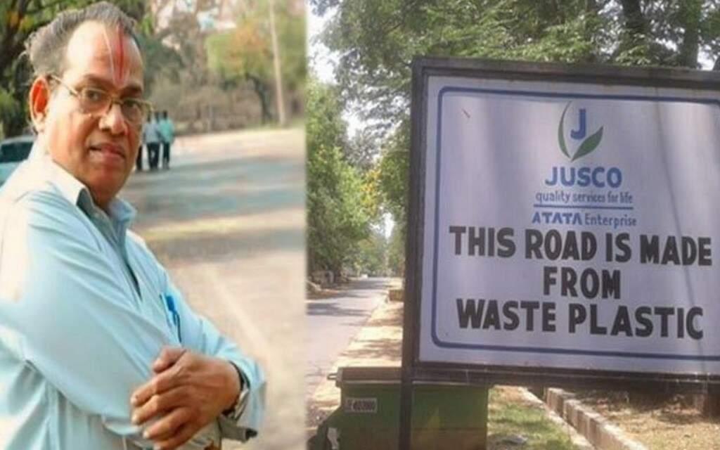 20 mil km de estradas feitas com plástico reciclado