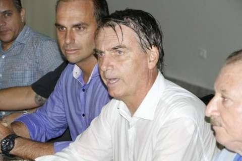 Em Dourados, Bolsonaro volta a atacar demarcação de terras indígenas