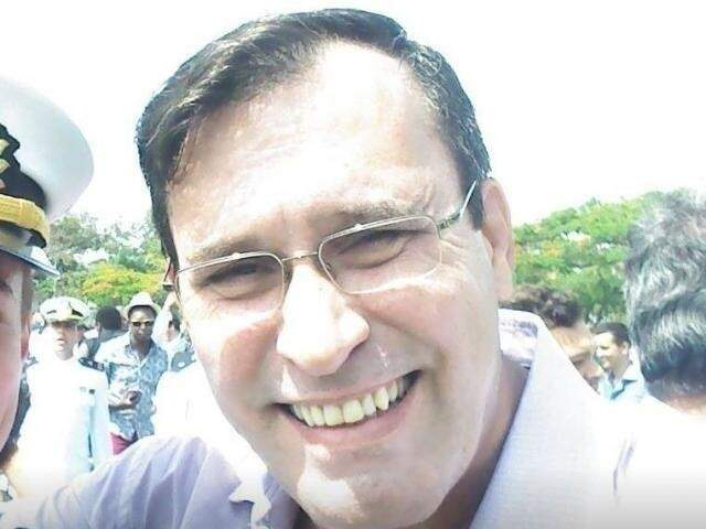 Major Paulo Settervall, de 57 anos, morto a facadas na noite do dia 14 de abril em Bonito. (Foto: Arquivo Pessoal)