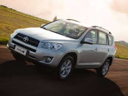 Toyota convoca proprietários do Rav4 para recall
