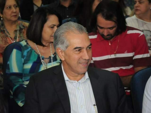 Governador Reinaldo Azambuja aparece em primeiro na pesquisa (Foto: Paulo Francis/Arquivo)