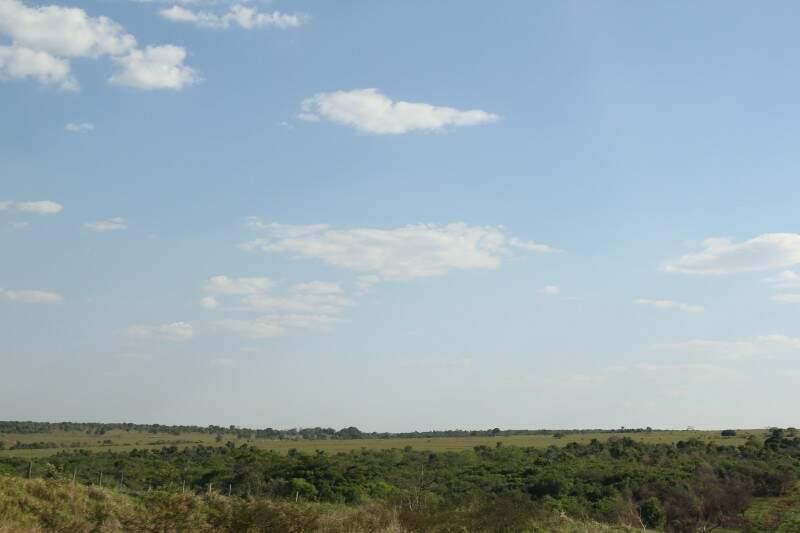 Atualmente, segundo a Sepaf, há cerca de 9 milhões de hectares degradados em propriedades de Mato Grosso do Sul (Foto: Marcos Ermínio)