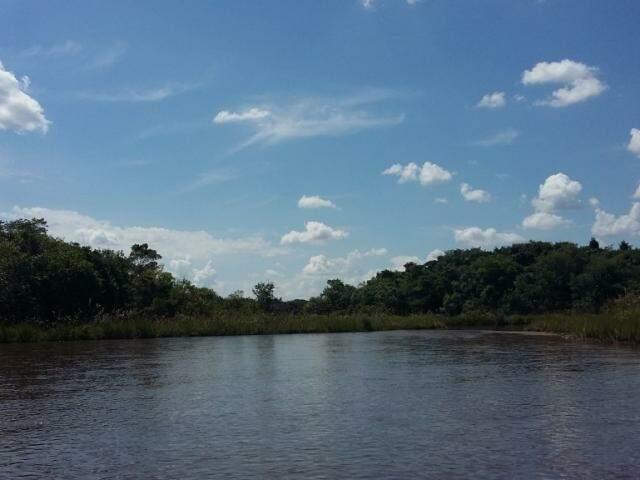 Bacia do Guariroba em Campo Grande, de onde vem a água que sai das torneiras em boa parte da cidade (Foto: divulgação)