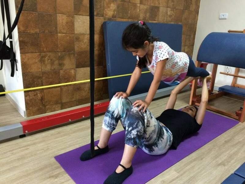 Mas a verdade é que talvez os adultos cheguem a atrapalhar os treinos, conta a educadora. (Foto: Arquivo Pessoal)