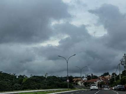 Campo Grande e mais 54 cidades de MS estão em alerta de chuva intensa