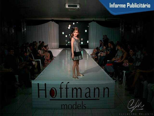 Nesta quarta dia 12/07 foi realizado o desfile da Hoffman Models em parceria com a Mimo's. (Foto: Guilherme Molento)
