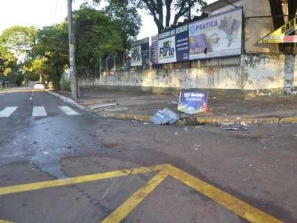 Motorista embriagado bate em táxi e mata passageiro na Afonso Pena