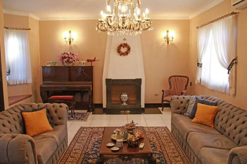 Ambiente, já parte da residência da família, é bem estilo americano. (Foto: Marcos Ermínio)