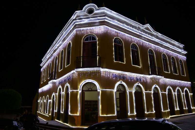 Decoração da Morada dos Bais foi inaugurada hoje a noite (Foto: Alcides Neto)