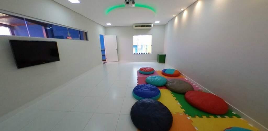 Sala multiuso para atividades dinâmicas (Foto: Divulgação)