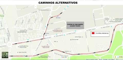Com Caravana da Saúde, avenida ficará parcialmente interditada