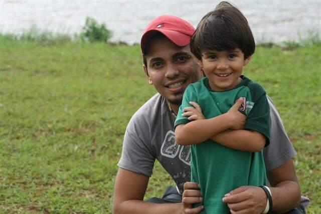 João quando menino. (Foto: Arquivo Pessoal)