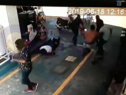 Vídeo mostra execução de filho de fazendeiro que lutou com bandidos