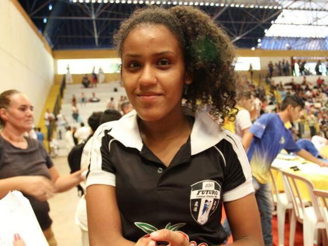 Aléxia: primeira viagem para fora do país e gratidão pela confiança da seleção brasileira