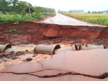 Sobe para 16 o número de cidades em emergência por causa das chuvas