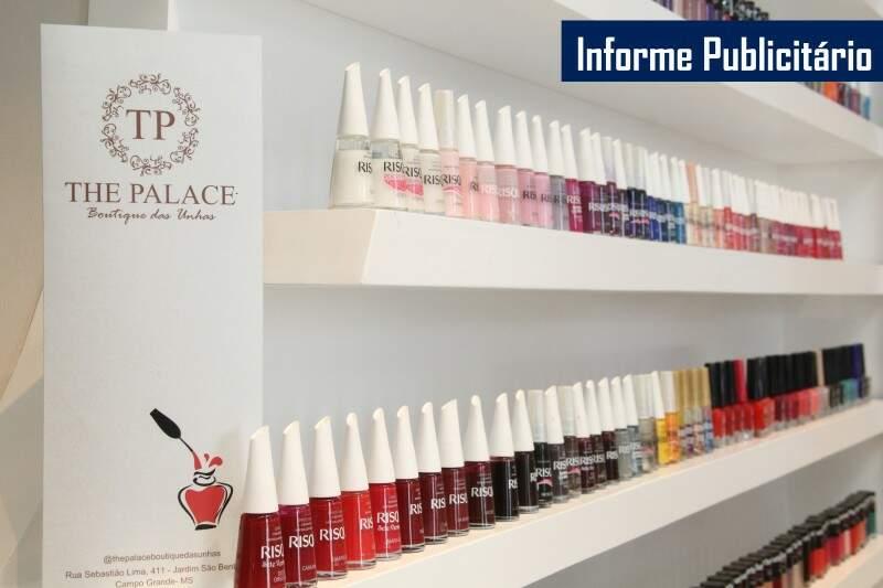 São mais de 750 marcas entre nacionais e importados de deixar qualquer cliente louquinha. (Foto: Marcos Ermínio)