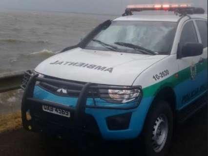 Duas embarcações naufragam em lago e sete pessoas são resgatadas